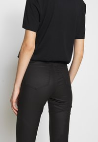 Topshop - COATED JONI - Jeans Skinny Fit - black - 3