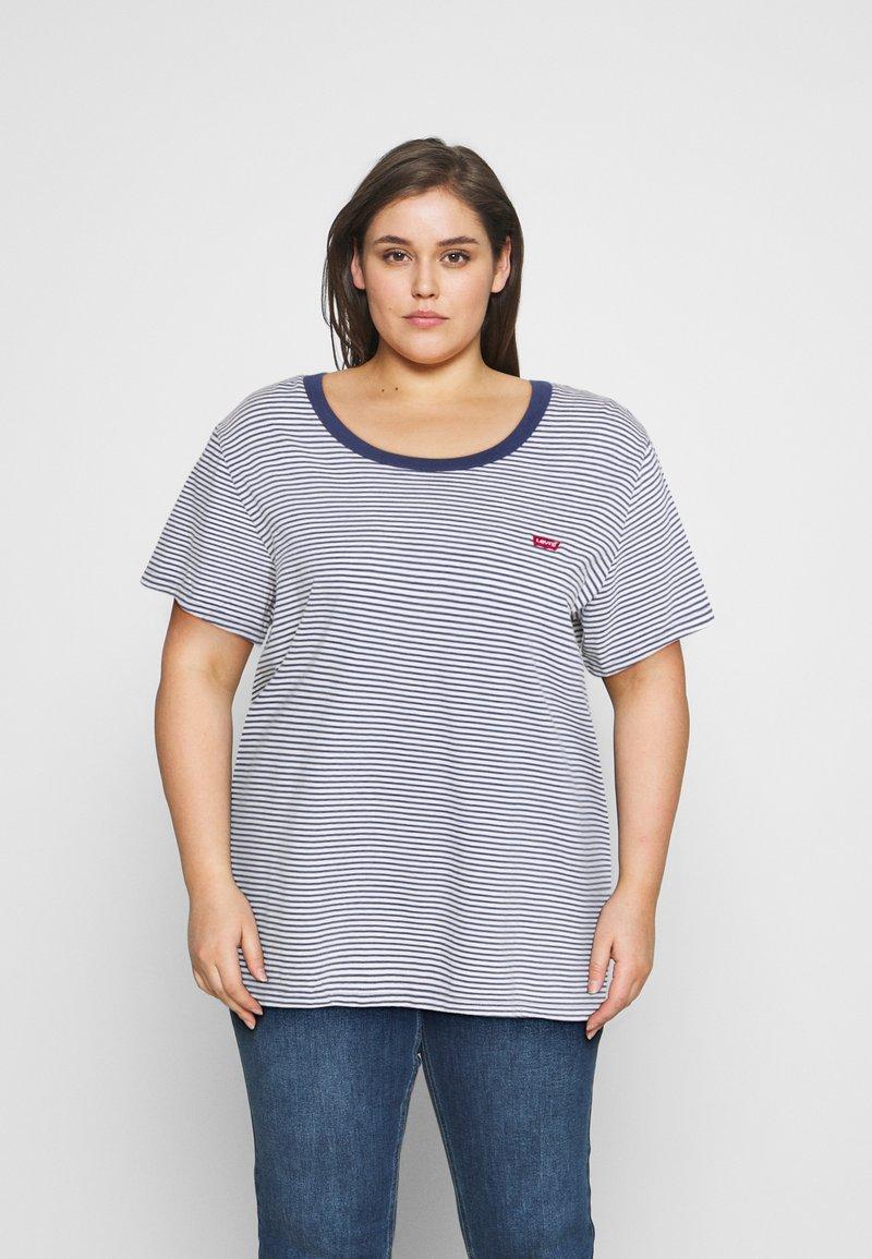 Levi's® Plus - Print T-shirt - blue