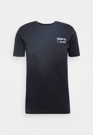 ALDER KNOWLEDE TEE - Basic T-shirt - dark blue