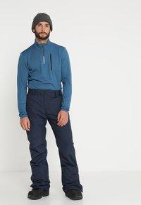 Brunotti - FOOTSTRAP MEN SNOWPANTS - Talvihousut - space blue - 3