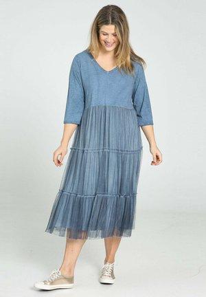 Day dress - indigo