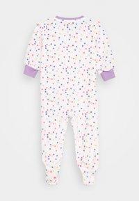 Nike Sportswear - DOT FOOTED COVERALL - Pijama - white - 1