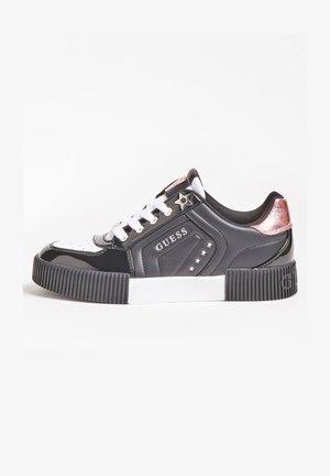 FRANSEY PRÄGUNG STERNE - Sneakers basse - schwarz
