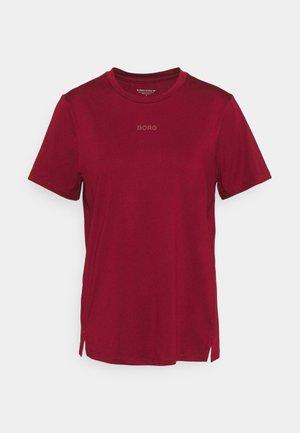 REGULAR - Potiskana majica - biking red
