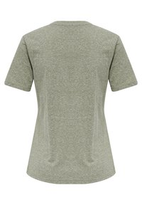Hummel - Basic T-shirt - vetiver melange - 6
