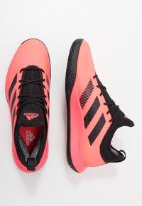 adidas Performance - DEFIANT GENERATION - Tenisové boty na všechny povrchy - signal pink/core black - 1