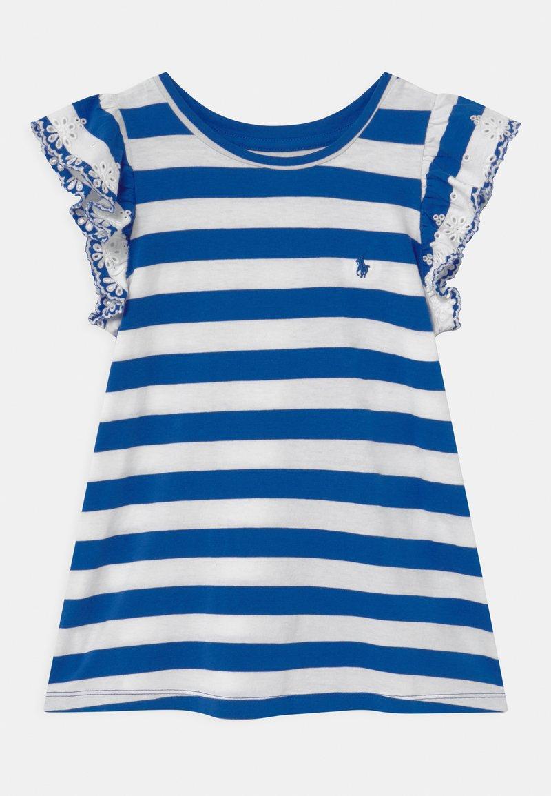 Polo Ralph Lauren - T-shirt imprimé - heritage blue/white