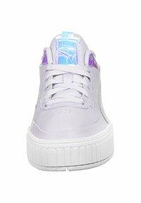 Puma - CALI SPORT GLOW - Zapatillas - purple heather/white - 5