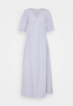 NOVA POPLIN DRESS - Maxi šaty - blue