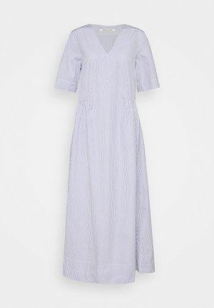 NOVA POPLIN DRESS - Maxi dress - blue