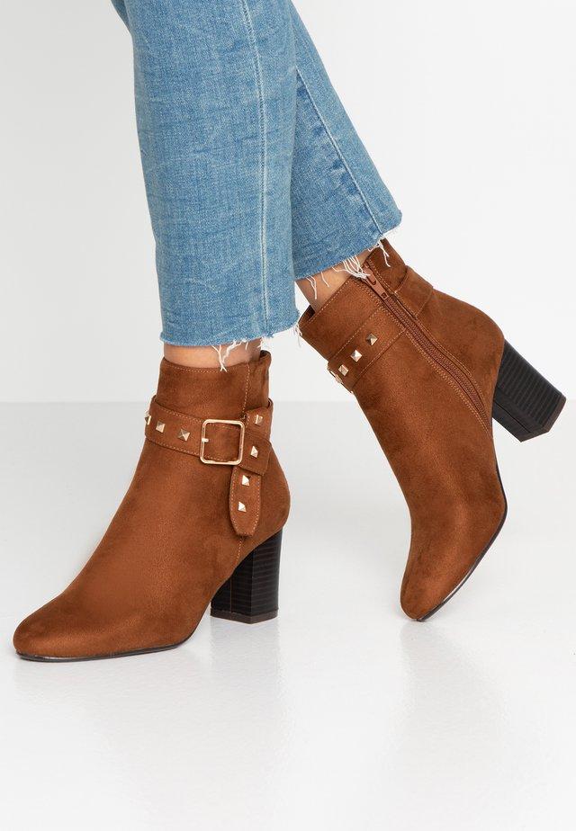 Korte laarzen - fauve