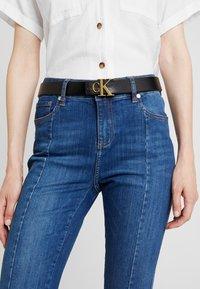Calvin Klein Jeans - MONO BELT - Skärp - black - 1