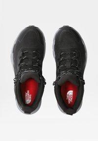 The North Face - W VECTIV EXPLORIS MID FUTURELIGHT - Chaussures de marche - tnf black/meld grey - 3