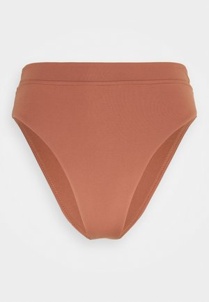 HIGH RISE PANT - Bikini bottoms - bronze
