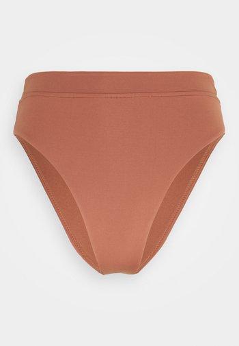 HIGH RISE PANT - Dół od bikini - bronze