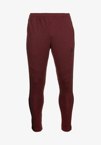 collegiate burgundy melange / black