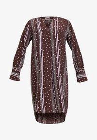 Levete Room - FREYA - Košilové šaty - french toast combi - 4
