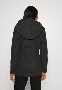 ONLY - ONLCHANETT JACKET  - Zimní kabát - dark grey melange - 2
