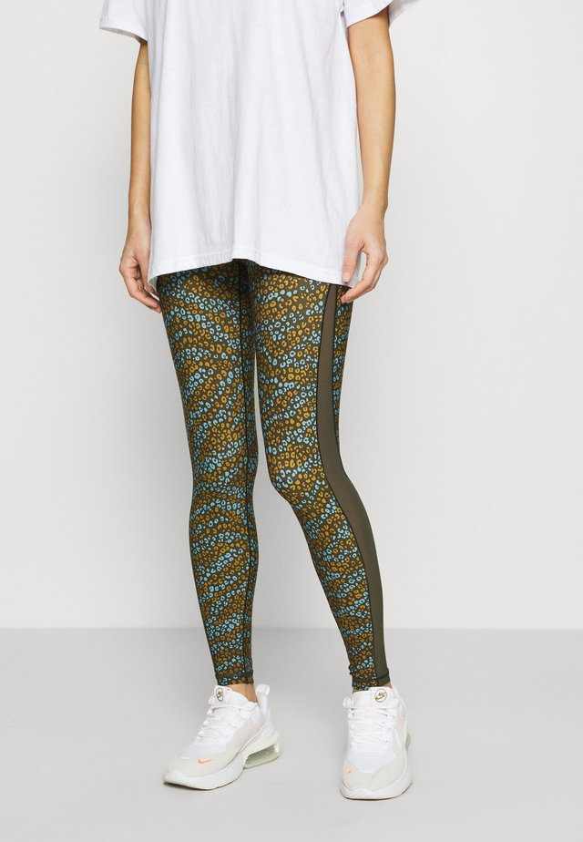 PRINTED REAL ME - Legging - olive daze