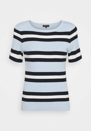 Print T-shirt - soft blue