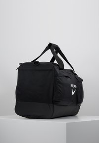 Nike Performance - POWER M DUFF PRO - Sports bag - black/white - 2