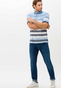 BRAX - STYLE PACO - Polo shirt - iced blue - 1
