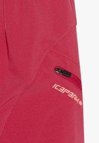 Icepeak - KITAMI - Sportovní sukně - carmine - 4