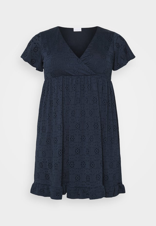 MLDENISE TESS SHORT DRESS - Jerseyklänning - navy blazer