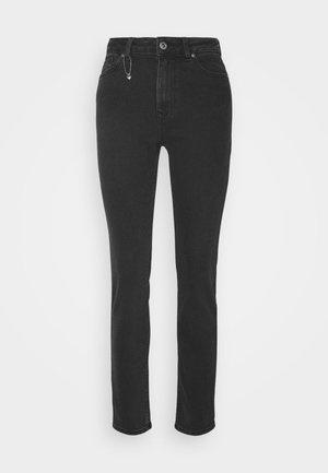 ONLERICA LIFE MID - Straight leg jeans - black denim