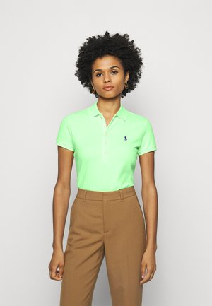 JULIE SHORT SLEEVE - Polo - banana peel