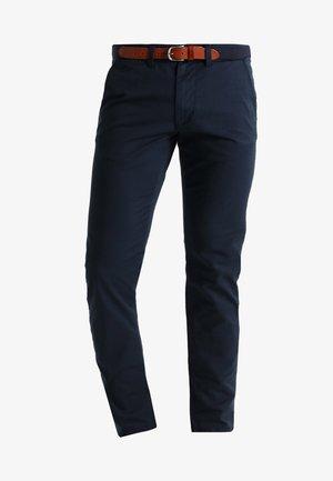 SHHYARD SLIM FIT - Chino kalhoty - dark sapphire