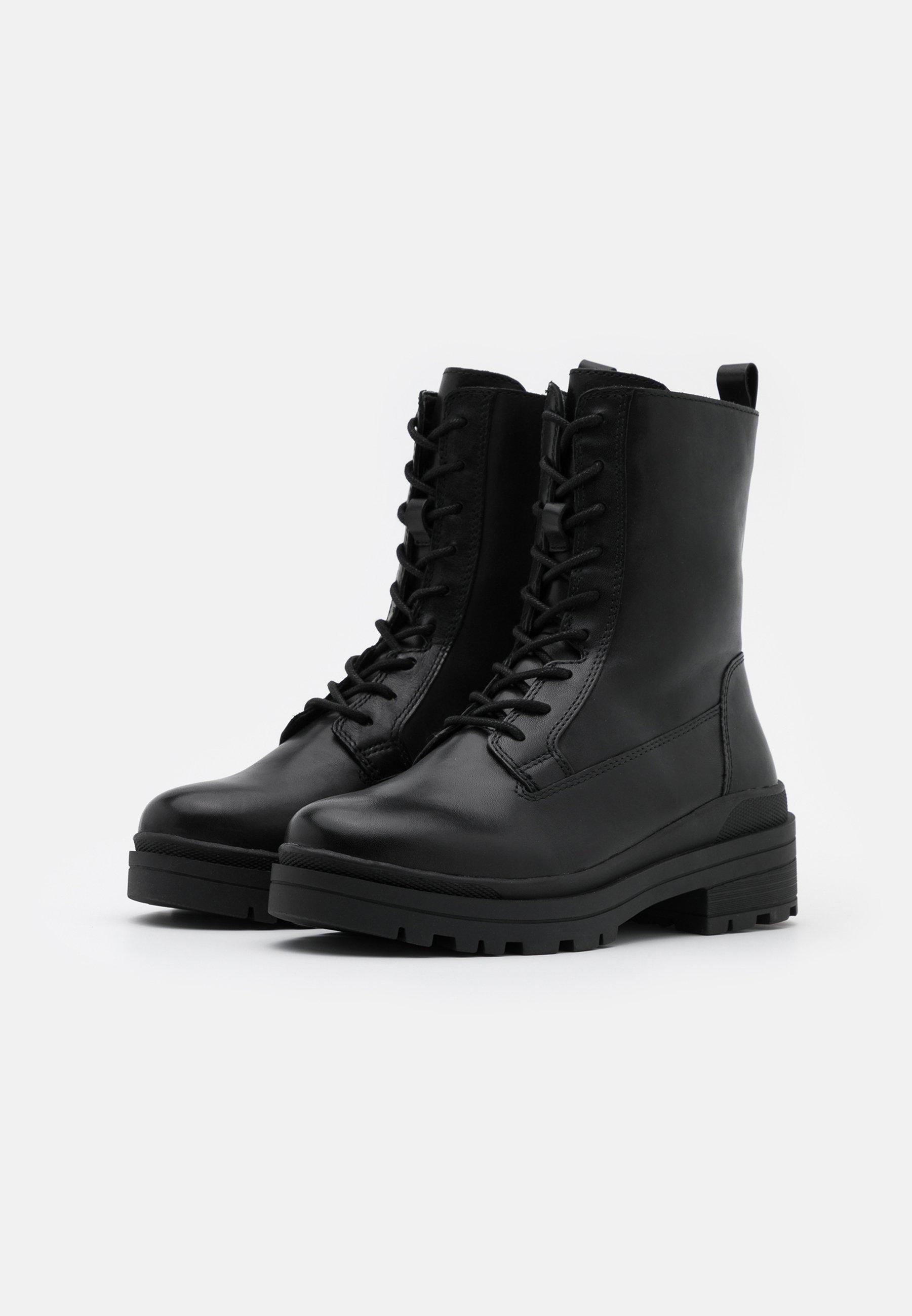 Fabrikkpris DameSko Caprice Snørestøvletter black 9YTEuHZ0