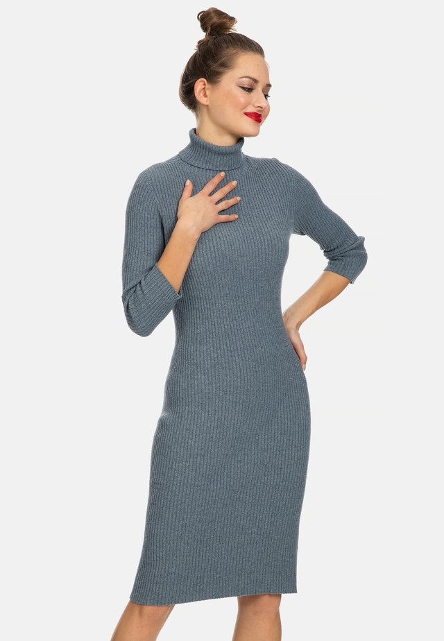 LIVIGNO - Shift dress - grey melange