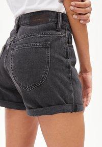 ARMEDANGELS - Denim shorts - black - 4