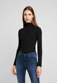 New Look - ROLL NECK - Sweter - black - 0