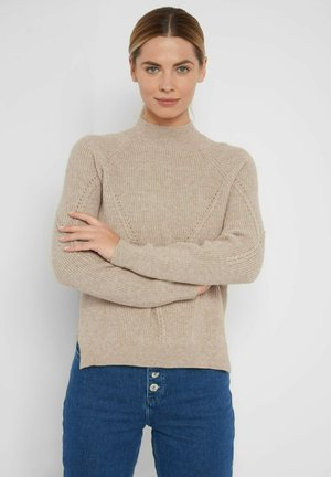 Jumper - autumn beige