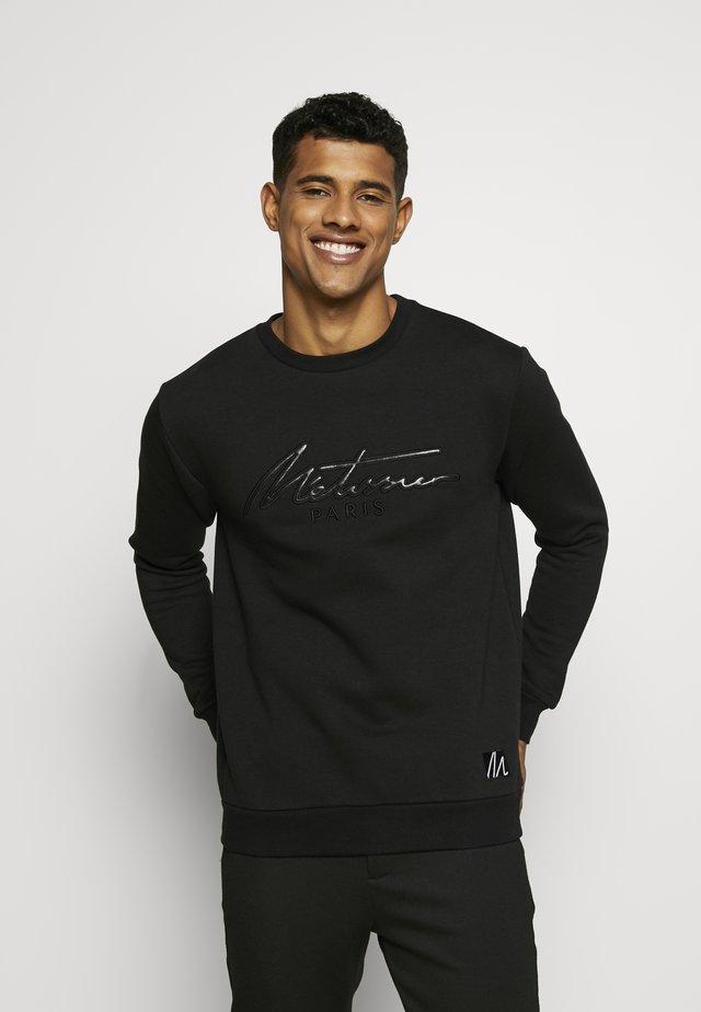 METISSIER VENLO - Sweatshirt - black