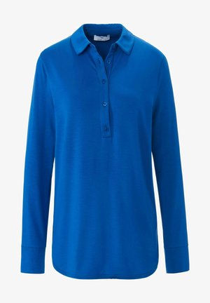 LANGARM - Polo shirt - kornblumenblau