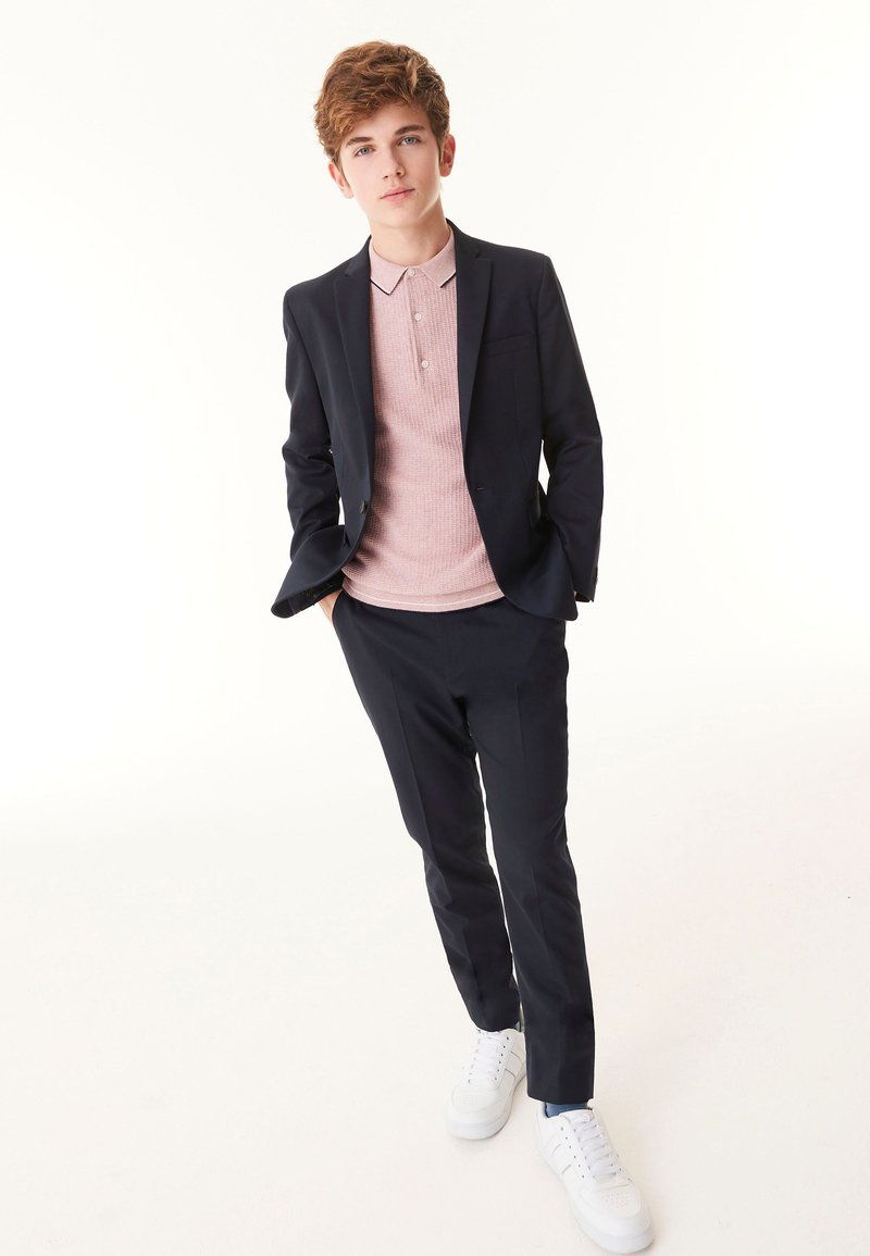 Next - Pantalón de traje - dark blue