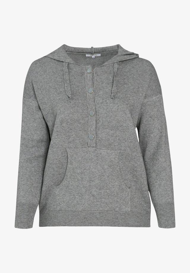 Felpa con cappuccio - grey