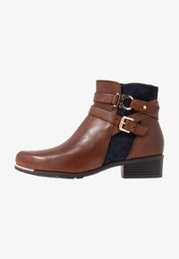 Caprice - Ankle boots - brandy/ocean - 1
