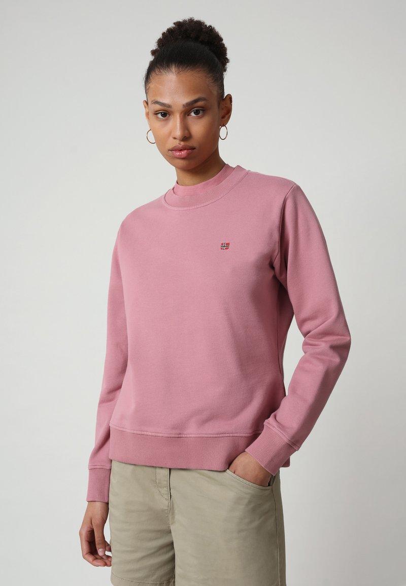 Napapijri - BALIS - Sweatshirt - mesa rose