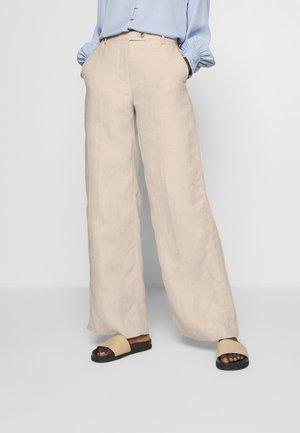 SILENE - Spodnie materiałowe - tehina