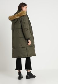 Urban Classics - Winter coat - darkolive - 2