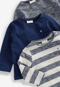 Next - 3 pack - T-shirt print - blue - 4