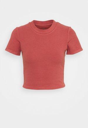 T-shirt basic - chestnut