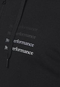 Peak Performance - GROUND ZIP HOOD - Zip-up hoodie - black - 5