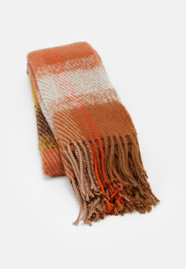 PCSILINA LONG SCARF - Huivi - harvest gold