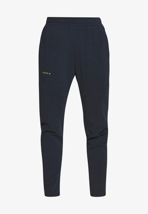FC BARCELONA PANT - Jogginghose - dark obsidian/sonic yellow