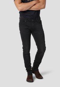 Gnious - SKINNY - Jeans Skinny Fit - magic black - 0